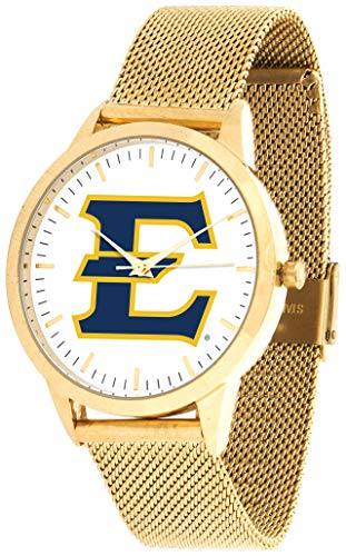 East Tennessee State Buccaneers - Mesh Statement Watch - Gold Band
