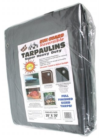(Foremost Tarp 22030 Tarp Slvr/BRN)