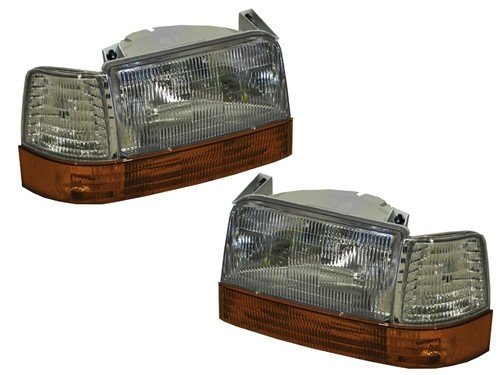 Coachmen Catalina 1996-2000 Front Replacement Headlights Signal Lights Corner Lights 6 Piece Set RV Motorhome Lighting 4 U