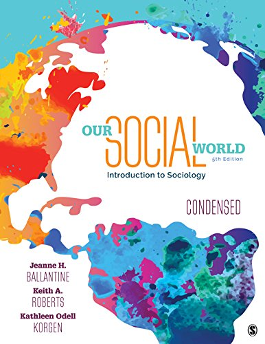 Amazon. Com: our social world: condensed version (9781412987271.