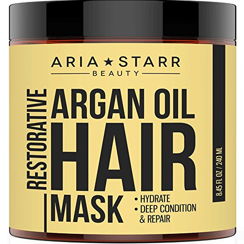 Aria Starr Argan Oil Restorative Mask Repair Hair Treatment