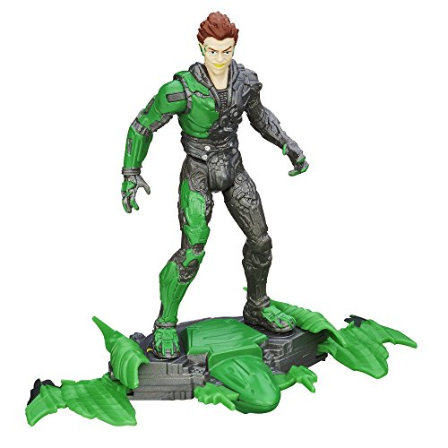 - Marvel, The Amazing Spider-Man 2 Movie Action Figure, Air Raid Green Goblin, 3.75 Inches