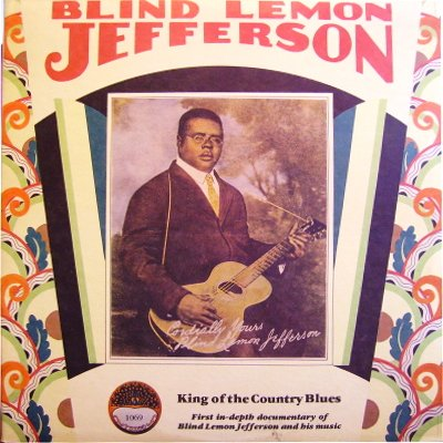 Blind Lemon Jefferson - King Of The Country Blues - Yazoo - L-1069