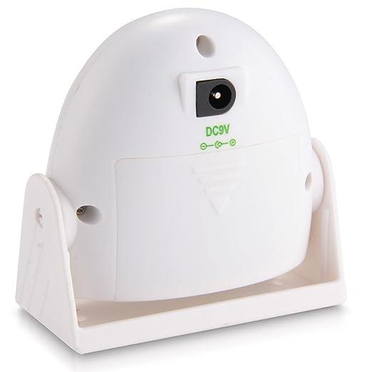 Detector de Movimiento Inalámbrico Timbre Alarma para Puerta Hogar Seguridad: Amazon.es: Bricolaje y herramientas