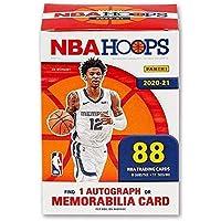 $97 » 2020/21 Panini Hoops NBA Basketball BLASTER box (88 cards/bx incl. ONE Memorabilia or…