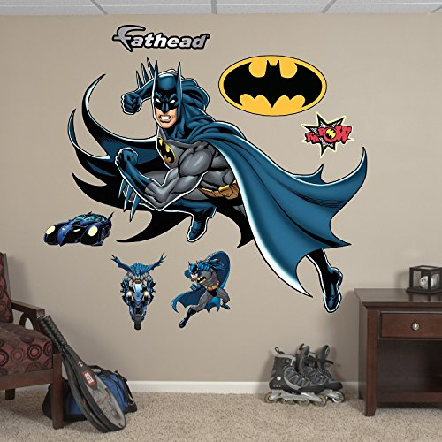 FATHEAD Batman in Action Graphic Wall Décor
