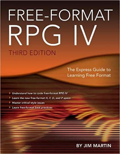 Free-Format RPG IV: The Express Guide to Learning Free