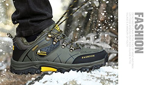 Running Shoes Leather Sport Hiking Breathable Men G 27 Green Trail Climbing Athletic ONENICE Shoes Travel Sneaker Walking for Women Camping Outdoor wC56qyWIp