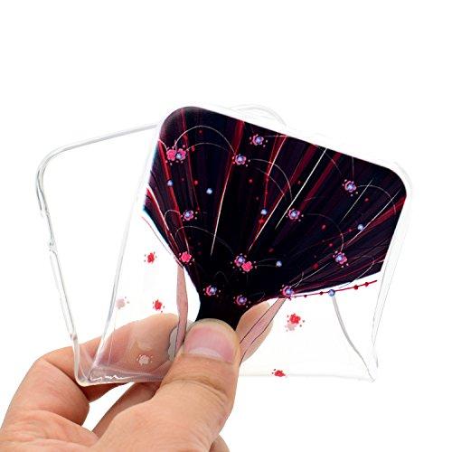 iPhone 8 Plus Hülle,Hochzeitsmädchen Premium Handy Tasche Schutz Transparent Schale Für Apple iPhone 8 Plus + Zwei Geschenk