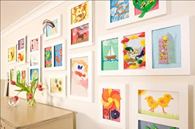 Triple Gallery Picture Frame, 9 by 12-Inch