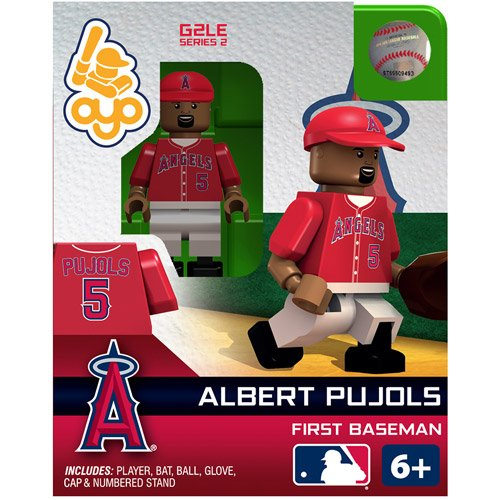 OYO MLB 2013 Angels Albert Pujols Mini Action - Mini Mlb Angels