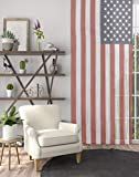 Modafabrik Fringe String Curtain for Window Doorway Closet, American Flag Designed | Patriotic Panel Room Divider