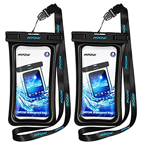 Mpow Floating Waterproof Case, IPX8 Waterproof Pouch Underwater New Type TPU Dry Bag for iPhone7/7plus/6s/6/6s plus Samsung galaxy s8/s7 LG V20 Google Pixel HTC10 (S3 Us Cellular Phone)