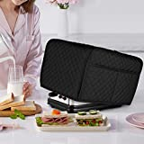 LUXJA Toaster Cover, Toaster Cover with 2 Pockets