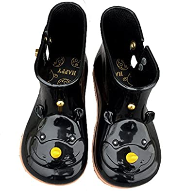 Amazon.com | iFANS Girls Kids Cute Rhinoceros Rain Boots