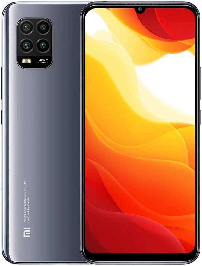 Xiaomi Mi 10 Lite 5G Smartphone 6GB 128GB 6.57'' AMOLED 48MP Quad-cámara 4160mAh (Typical) NFC, Gris