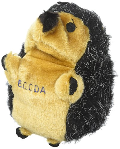 Petmate Booda Soft Bite Hedgehog Plush Dog Toy (Medium/Large) (Booda Dog Toy)