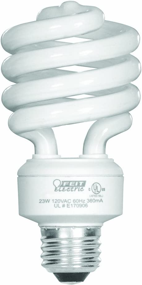 Feit Electric 23-Watt Compact Fluorescent Mini Twist (100-Watt Incandescent Equivalent), Daylight