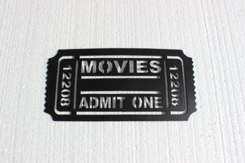 admit one ticket wall art - 1