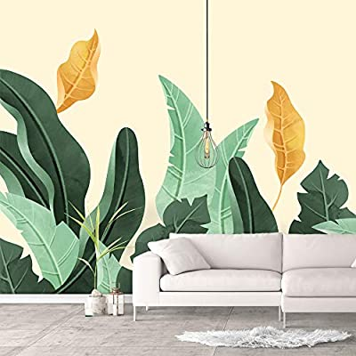 Elegant Portrait, Premium Product, Wall Murals for Bedroom Green Plants Animals Removable Wallpaper Peel and Stick Wall Stickers