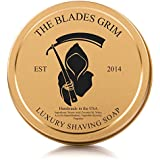 The Blades Grim Gold Luxury Shaving Soap.