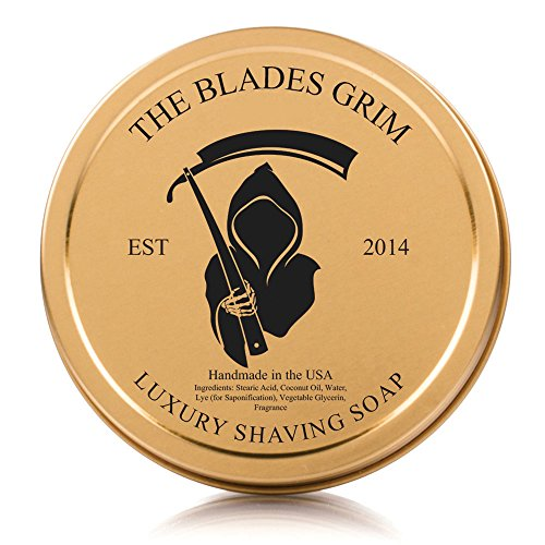 The Blades Grim - Luxury Shave Soap, Handmade in...