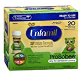 2 Qty of Enfamil ProSobee Nursette 20 Cal Soy Infant Formula 8.0 oz. x 6 ea