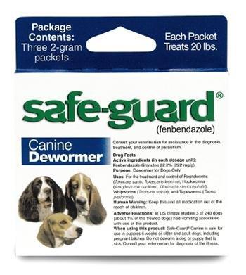 Eio Wormer Safeguard 4 Md Dog