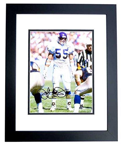 Jack Del Rio Signed - Jack Del Rio Signed - Autographed Minnesota Vikings 8x10 inch Photo BLACK CUSTOM FRAME - Guaranteed to pass PSA or JSA - Oakland Raiders Coach