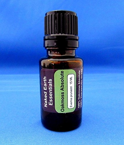 Oakmoss Fragrance Oil (Oakmoss Absolute Essential Oil 100% Therapeutic Pure 15 ML (8073))