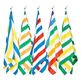 Dock & Bay Sand Free Beach Towel Set - Set of 5, Extra Large (200x90cm, 78x35) - Quick Dry, Compact for Swim, Pool, Boat