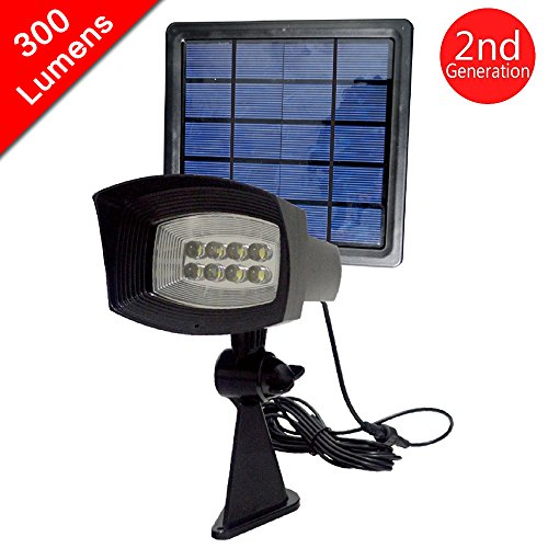 Pole Mounted Solar Security Light in Florida - 7