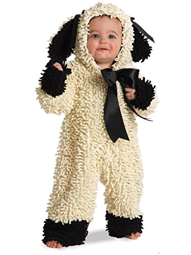 Nursery Rhyme Character Costumes For Kids (Wooly Lamb Toddler Costume - Baby 12-18)