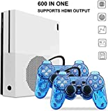Entertainment System , Retro Game Console 600 Classic Games with 2Pcs Joystick , Support CP1, CP2, NEOGEO, Arcade, GBA, MD,SFC