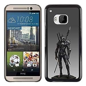 Estuche Cubierta Shell Smartphone estuche protector duro para el teléfono móvil Caso HTC One M9 / CECELL Phone case / / Spear Fighter Pc Game Armor /