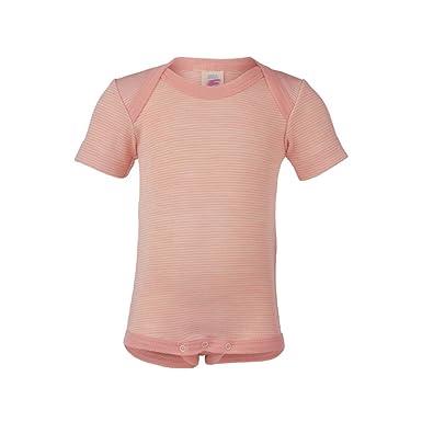 56080ceff2ea0 Merino wool silk baby striped BODY bodysuit t-shirt top  Amazon.co.uk   Clothing