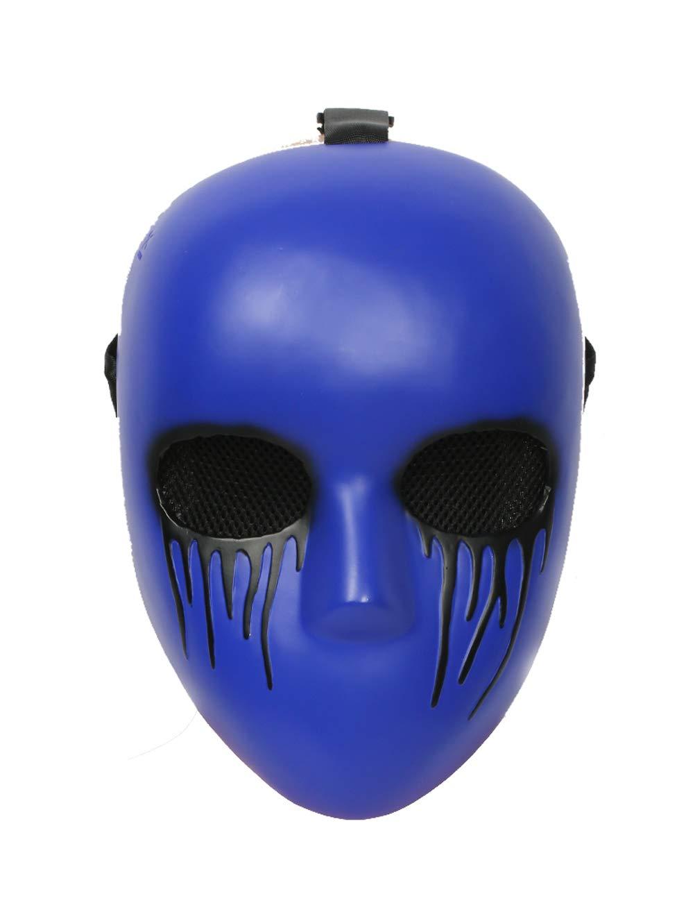 Xcoser Eyeless Jack Mask Costume Props for Halloween Coslay Resin