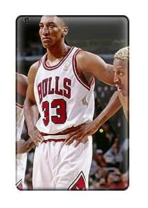 Ipad Mini/mini 2 Basketball Nba Game Player Michael Jordan Chicago Bulls Print High Quality Tpu Gel Frame Case Cover