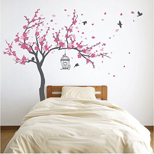 Pink cherry blossom wall art | Decor | Compare Prices at Nextag