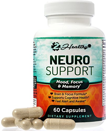 Extra Strength Brain Function Booster Supplement for Focus, Clarity, Memory Enhancer - Mental Performance Nootropic - Physician Formulated with Bacopa Monnieri, DMAE, L-Tyrosine, Green Tea Extract