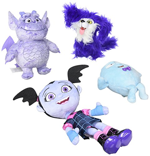 Vampirina Collector 4 Pack Bean Plush Dolls ()