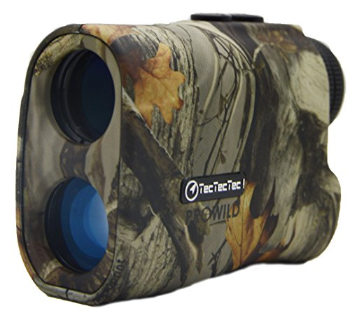 TecTecTec ProWild Hunting Rangefinder - Laser Range Finder for Hunting with Speed Scan and Normal measurements