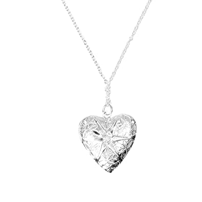 Buy silver photo pendant necklace chain online at low prices in silver photo pendant necklace chain aloadofball Gallery