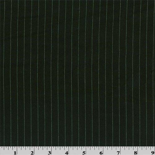Wool Pinstripe Suiting - 3