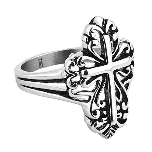 james avery ring cross - 3
