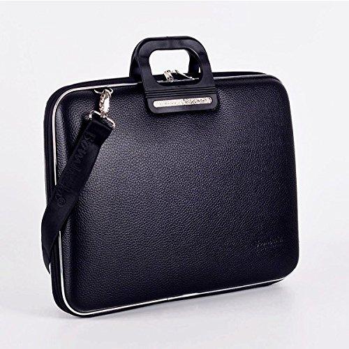 Bombata Bag Firenze Briefcase for 17 Inch Laptop - Black