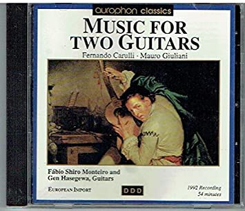 Music for Two Guitars