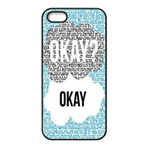 The Fault in Our Stars iPhone 4 4s Case - Okay? Okay iPhone 4s Cover APL731549