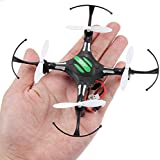 KXN Mini RC Helicopter Drone 2.4Ghz 6-Axis Gyro 4 Channels One Key Return with Led Light Quadcopter Good Choice for Drone Training