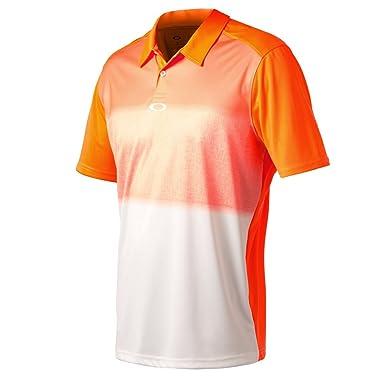 58170678800 ... discount oakley 434119 mens rothko polo shirt neon orange small b01e9  0807b